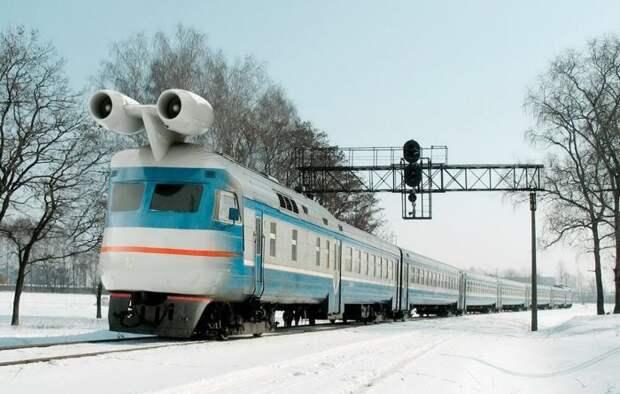 Первый в СССР реактивный поезд: мечта, почти ставшая реальностью