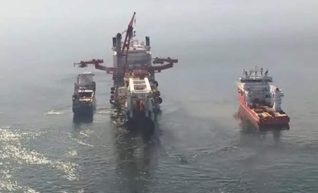 Под охрану «Северный поток-2» взяли немецкие рыбаки