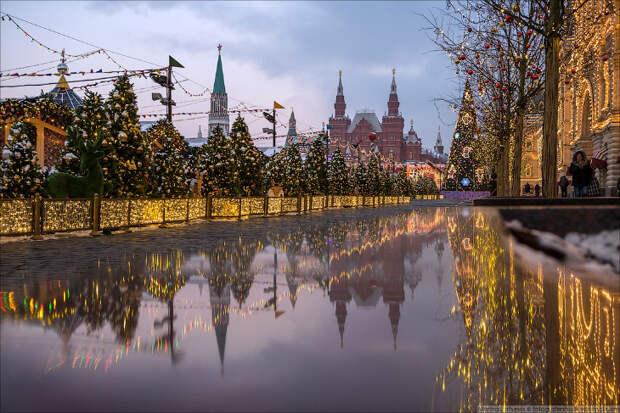 Чудесная предновогодняя Москва