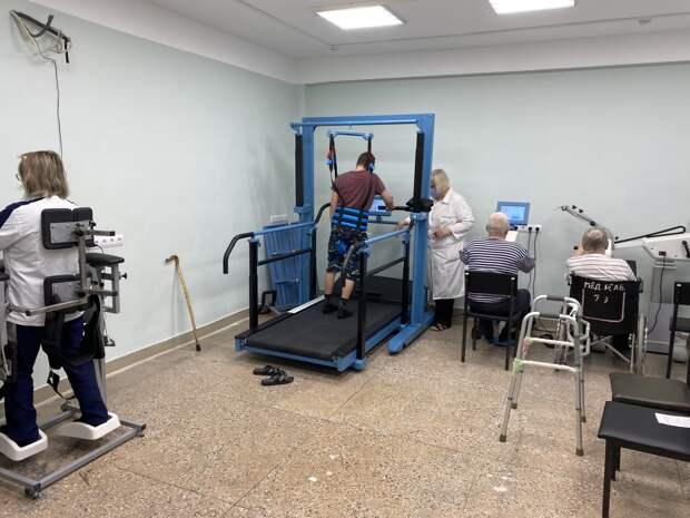Вгородской клинической больнице №13 Нижнего Новгорода начали принимать нареабилитацию пациентов, переболевших COVID-19