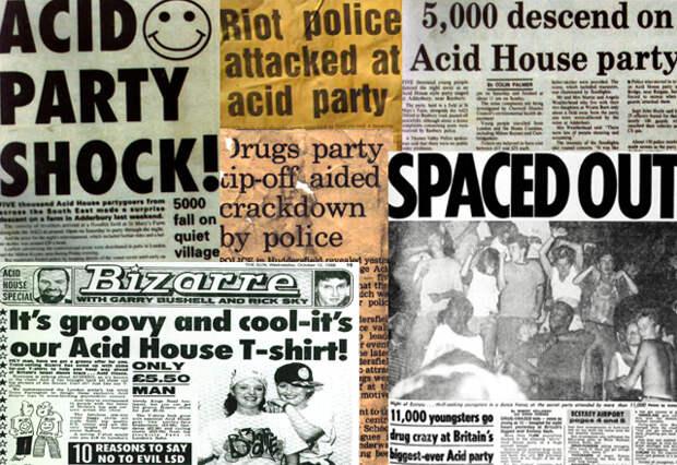 Общественное мнение и власти новую субкультуру неодобряли.