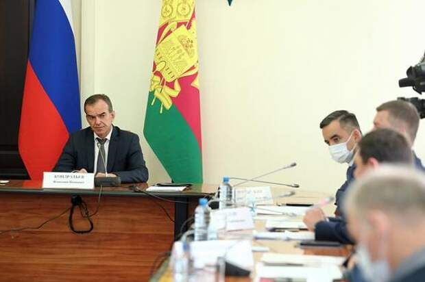 Губернатор Кубани обсудил вопросы застройки Краснодара
