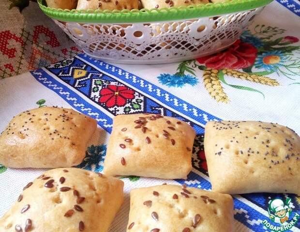 Любимый бабушкин рецепт: песочные пирожки с мясом в духовке!