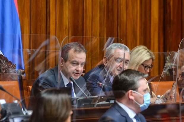 Спикер сербского парламента доказал, что в Косово был геноцид исключительно сербов