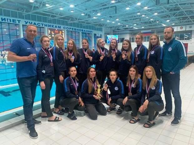 Ватерполистки из Челябинской области заняли 3-е место на Чемпионате России