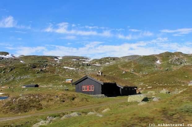 Путешествие по Норвегии, лето 2016 — часть 3 (трасса Е134, перевал Хаукелифьел и Латефоссен)