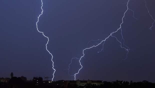 «Желтый» уровень опасности из‑за грозы и ветра объявили в регионе на 8 мая