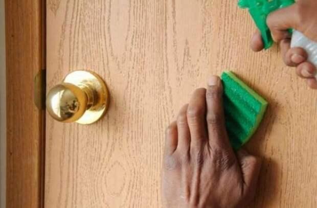 Советы по удалению пятен с дверей мдф
