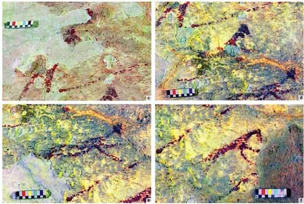 Наскальная живопись Индонезии начала быстро разрушаться из-за глобального потепления