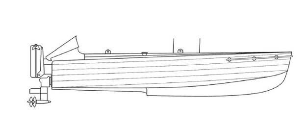 Схема итальянской лодки-брандера