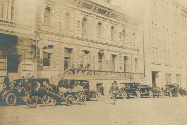 Автомобили Владивостока, 1918