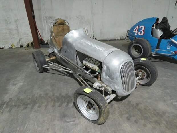 1946 Solar Midget Racecar Вот это ДА, винтажные авто, гоночные автомобили, интересно, коллекция авто, коллекция автомобилей, мотоциклы, раритетные автомобили