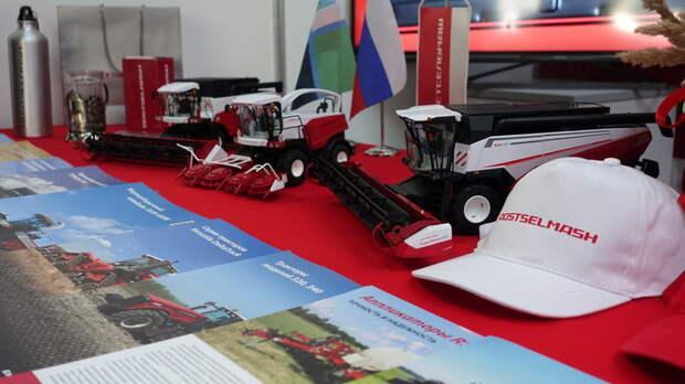 Ростсельмаш представил технику на выставке «БелгородАгро-2019»