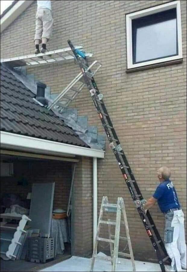 Опасная работа на высоте