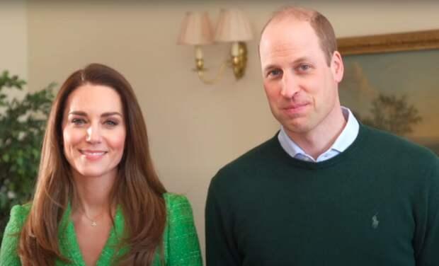 Кейт Миддлтон и принц Уильям поздравили ирландцев с Днем святого Патрика