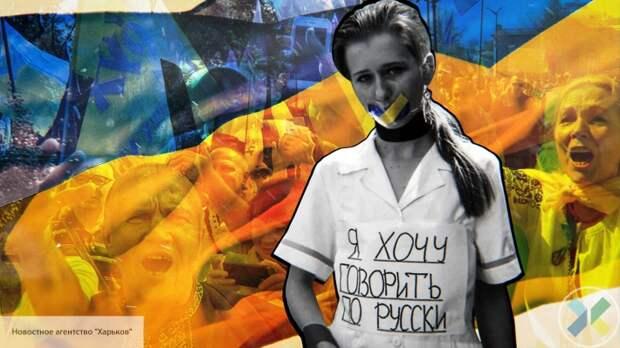Украинка пожертвовала здоровьем дочери ради борьбы с русским языком