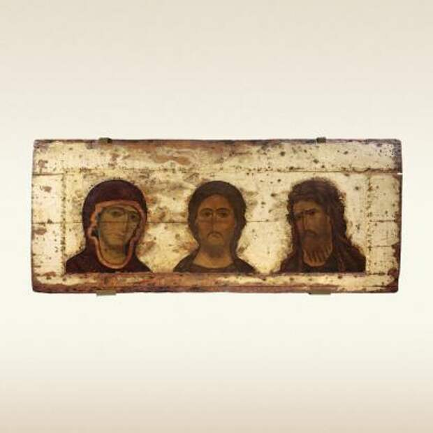 Икона ДЕИСУС. Первая треть 13 века
