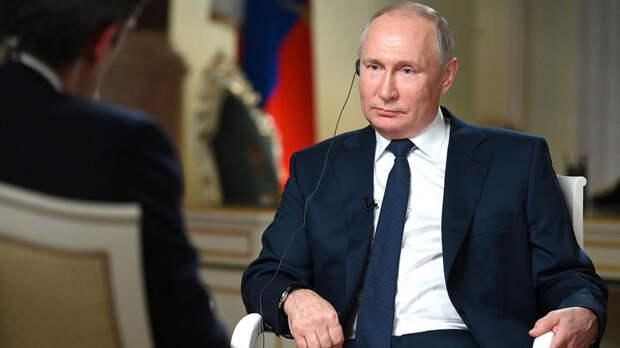 Беседа интервьюера NBC и Путина продолжилась и после съемок