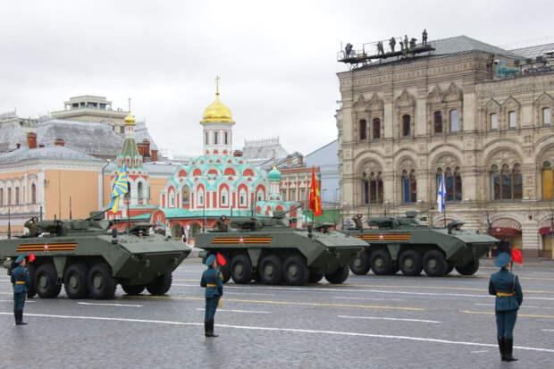 Главный парад страны. 9 мая на Красной Площади: ФОТО