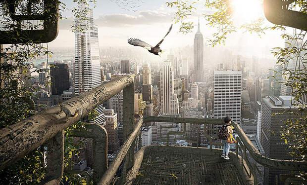 Архитекторы показали «живой небоскреб»: здание в 55 этажей полностью вырастят из деревьев
