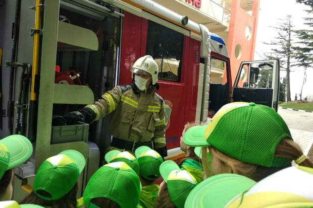 Детей три дня планово эвакуировали из «Артека»