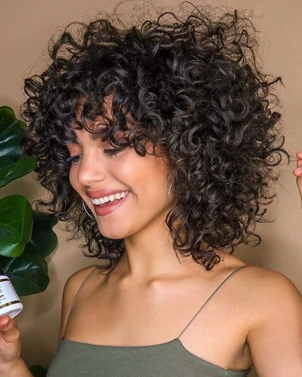 Завивка на короткие и средние волосы фото 3