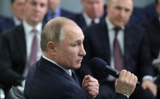 Путин обозначил главные задачи для законодателей на следующий год