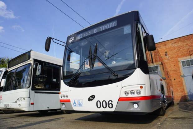 По Западному обходу Краснодара могут пустить троллейбусы с автономным ходом