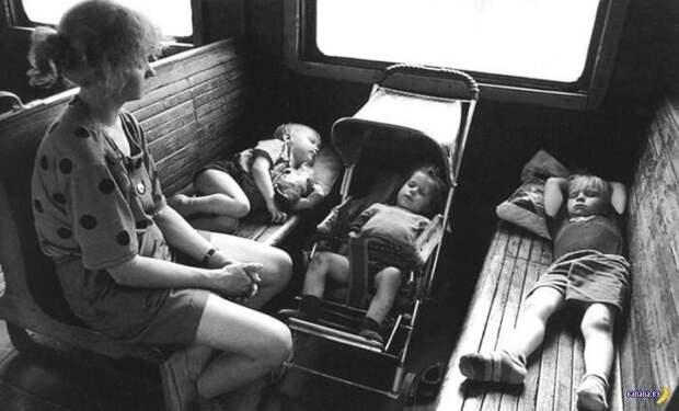 Поездка к бабушке СССР, история, фото