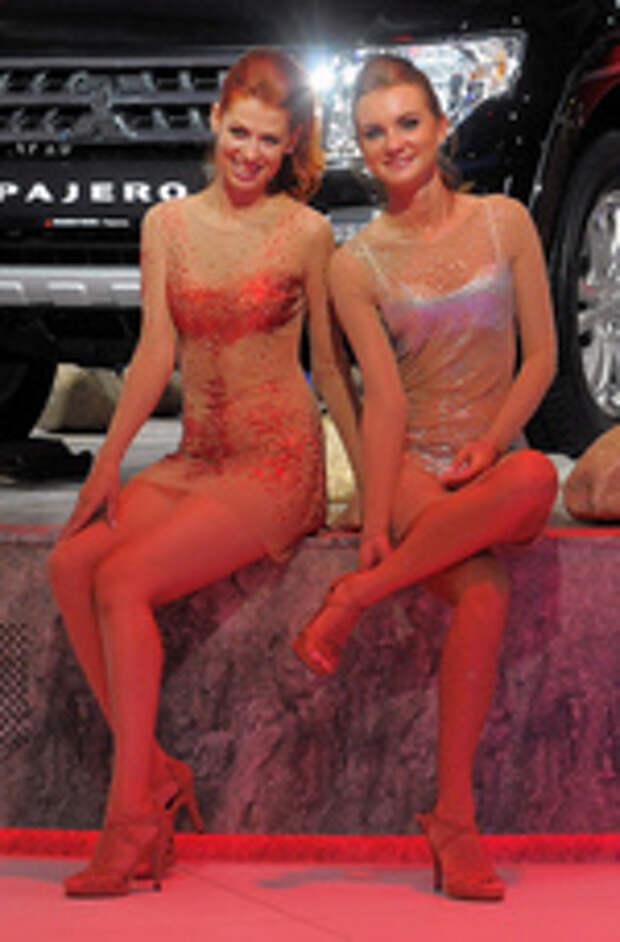 Один раз увидеть: лучшие девушки мотор-шоу в Москве