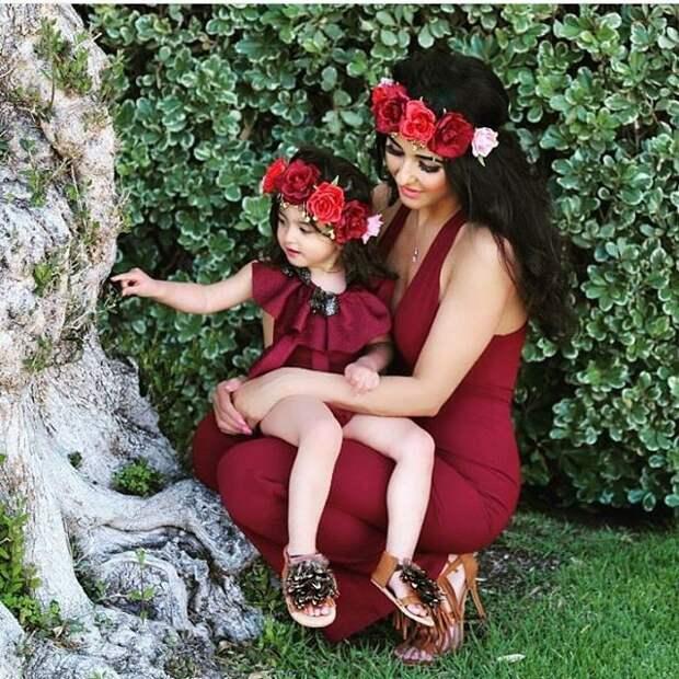 Яблочко от яблони: 20 милых фото, на которых дети и родители одеты одинаково дети, копия, одежда, родители