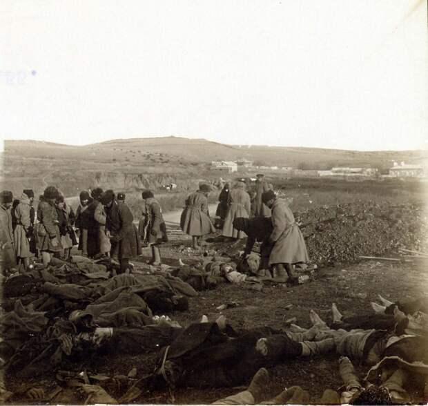Дореволюционная Россия на фотографиях. Смерть и разрушения в Порт-Артуре