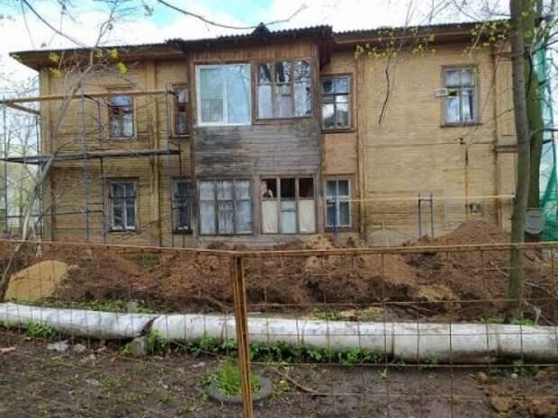 Теплотрассу около нижегородской усадьбы Лемке переложили в ходе реставрации