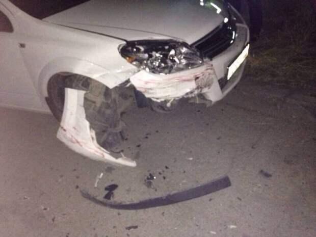 ДТП в Севастополе: незнакомец врезался в авто и растворился в темноте (фото)