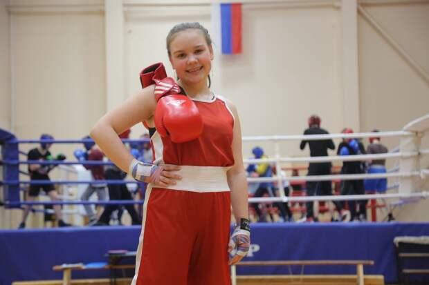 Ксения занимается боксом уже три года / Фото: Артур Новосильцев