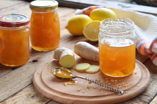 Конфитюр с имбирем и лимоном