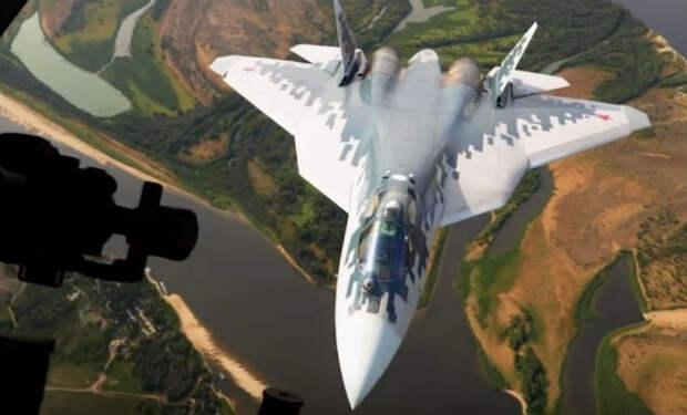 Проход Су-57 на сверхмалой высоте: уникальные кадры