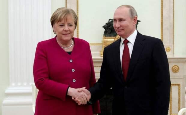 FAZ: Уход Меркель создаст для Путина дополнительные проблемы