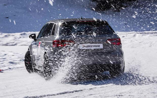 Экспресс-тест новых зимних шин Bridgestone: с шипами и без