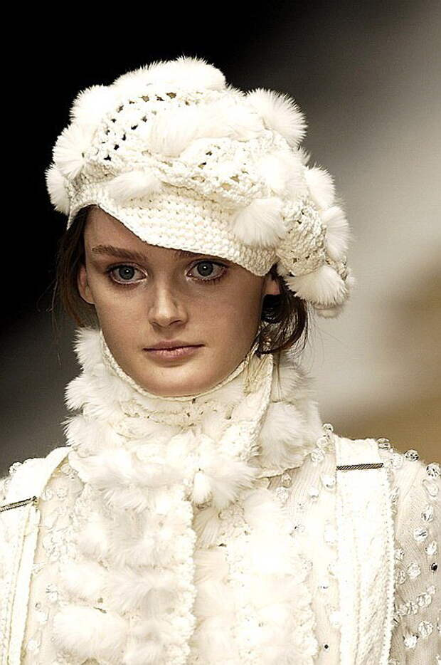 Модные страсти. Вязание с подиума