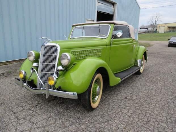 1935 Ford Cabriolet Вот это ДА, винтажные авто, гоночные автомобили, интересно, коллекция авто, коллекция автомобилей, мотоциклы, раритетные автомобили