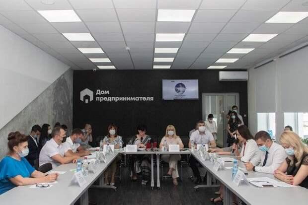 Ольга Виноградова провела заседание круглого стола на тему: «О развитии института самозанятых в Республике Крым»