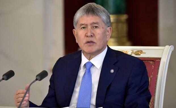 Экс-президента Киргизии Атамбаева снова задержали