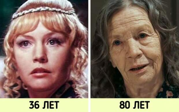 Как теперь выглядят эти знаменитые советские актеры