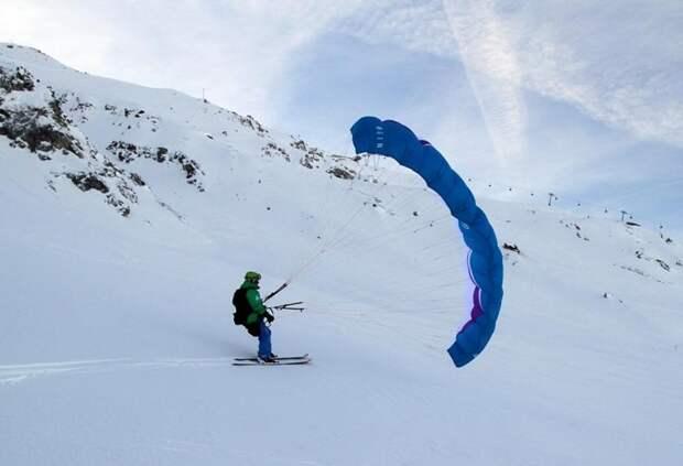 В Альпах наступила зима