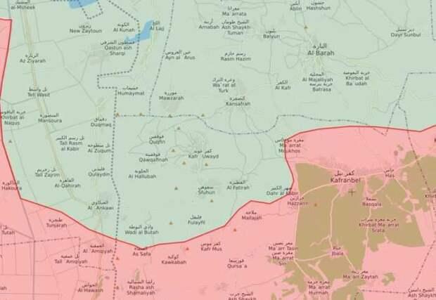 Сирийская армия взяла под контроль новые территории в провинции Идлиб