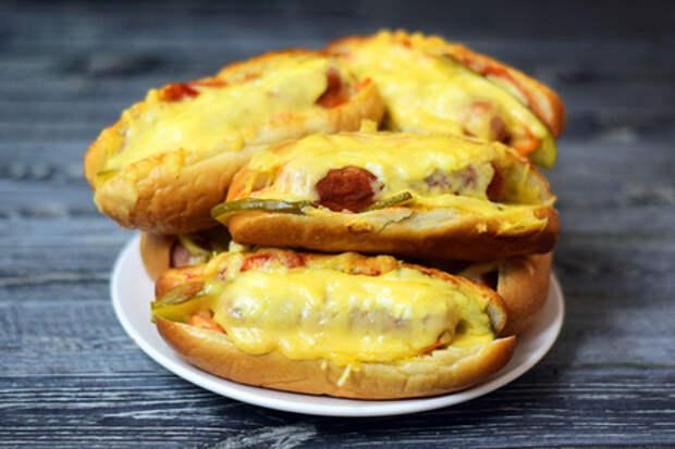 Вкусные хот-доги в духовке