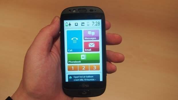 Обзор Fujitsu Stylistic S01: смартфон для пожилых людей