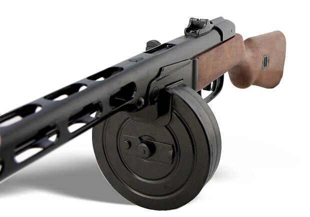 Пистолет-пулемёт Шпагина