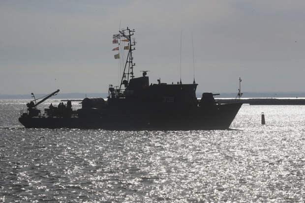 Корабельная тральная группа Балтийского флота участвовала в учение по поиску мин